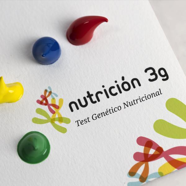 """Folleto e imagen  corporativa """"Nutrición 3G"""""""
