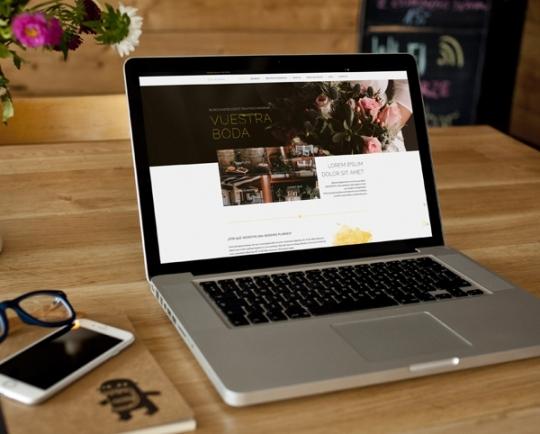 Web para Salacadula Wedding planner