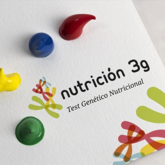 Folleto e imagen  corporativa «Nutrición 3G»